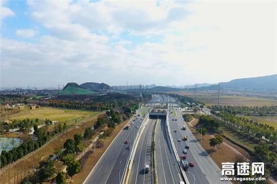 中交一公局集团二公司苏州太湖大道快速化改造工程正式全线通车