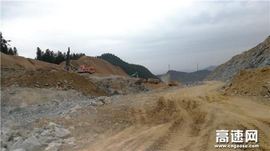 江西安福县旅游快速通道工程建设正有序推进