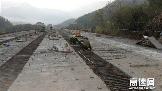 江西安福县旅游快速通道PPP项目控制性工程即将完工