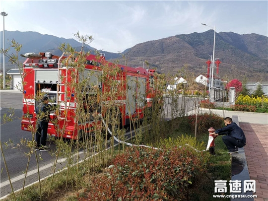 陕西高速汉川分公司健全消防车取水点信息助力救援工作提质增效