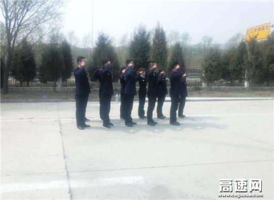 甘肃泾川所白水收费站扎实开展春季军训活动