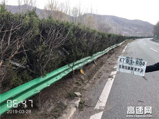 陕西高速黄陵路政中队奋战76小时查获特大路产逃逸案件