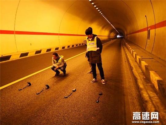 陕西高速集团铜旬分公司联合省规划设计院做好隧道提升排查工作