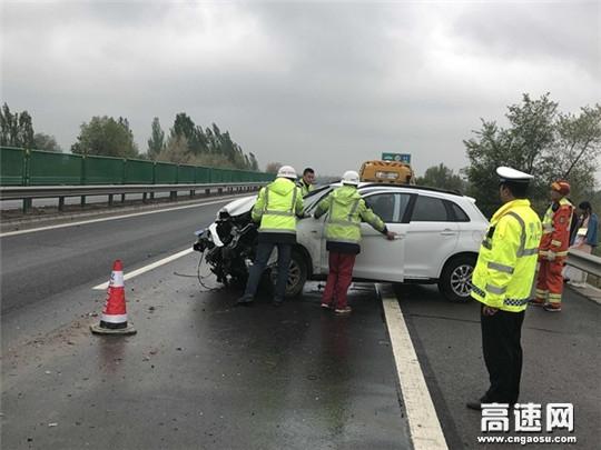 甘肃高速公路武威清障救援大队 紧急处置道路事故问题