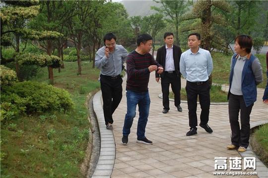 江西:安福公路分局参观学习芦溪公路驿站建设