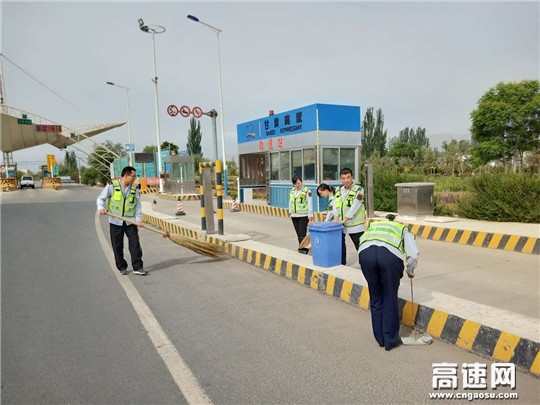 甘肃古永所武威站加强环境卫生整治工作
