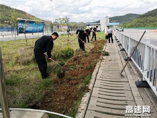 甘肃庆城所多措并举强化路域环境整治工作