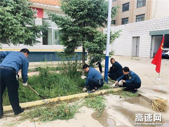 甘肃古浪路政执法所党支部开展6月份主题党日活动