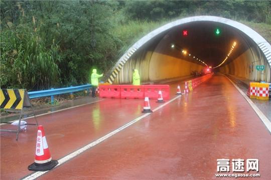 湖北高速路政武黄支队第三大队抓细节防未然确保隧道通行安全