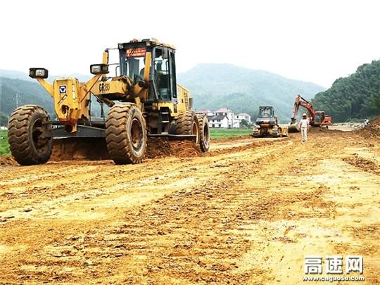 江西安福旅游快速通道工程有序推进