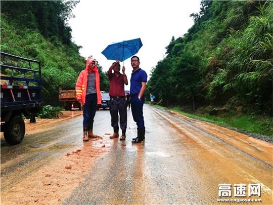江西:安福公路分局积极应对持续降雨下的各类灾情