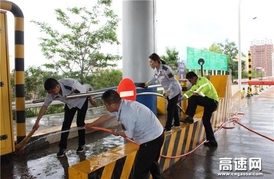 甘肃:甘谷收费所洛门站多举措做好夏季防暑工作