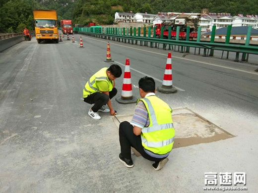 陕西高速集团宁陕管理所多举措提升路面病害修复管理水平