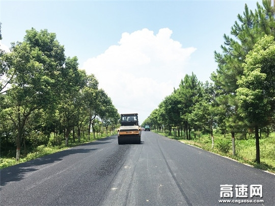 江西安福G322养护大中修工程顺利完工