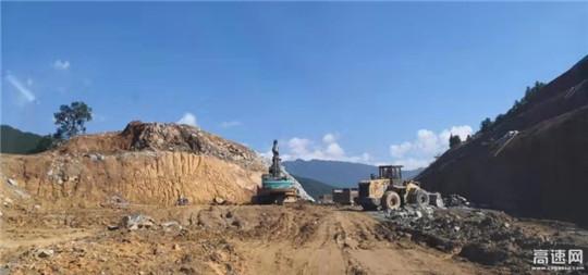 江西安福旅游快速通道PPP项目抢抓有利天气加快施工进度