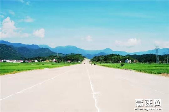 江西安福县旅游快通道PPP项目路基交工验收
