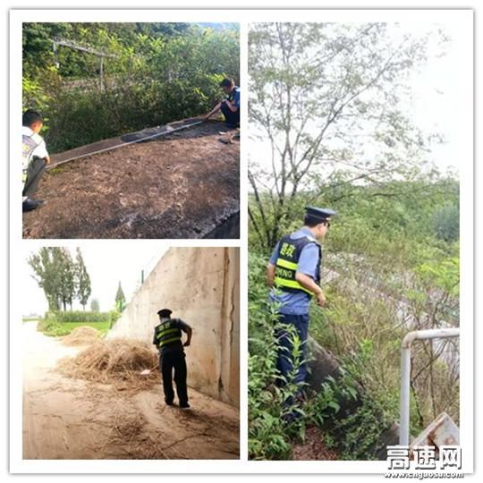 陕西高速集团西略分公司汉台管理所路养联合开展道路安全隐患排查整治工作
