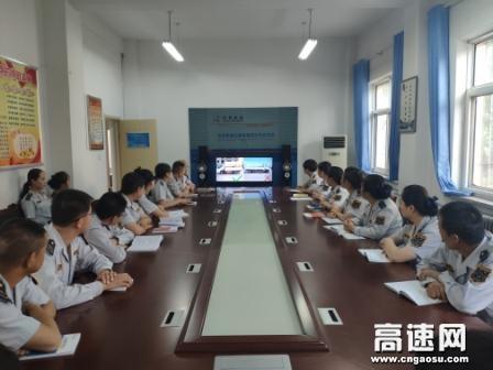 甘肃古永收费所丰乐收费站组织职工开展安全警示教育宣讲活动
