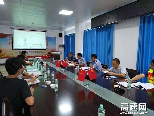 """广西玉林高速公路管理处""""路警企""""为改扩建项目施工监管主动服务显成效"""