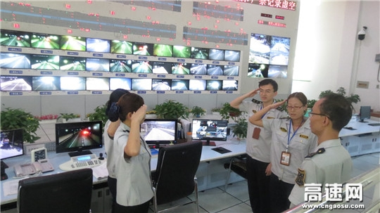 甘肃宝天高速麦积山隧道监控站加强监控业务提升