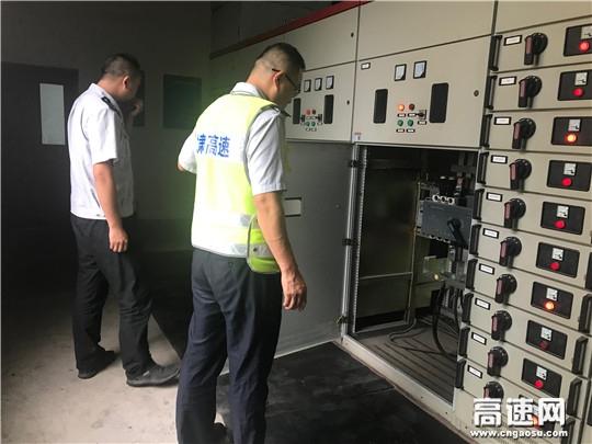 """甘肃宝天所东岔主线站排查安全隐患迎""""中秋""""佳节"""