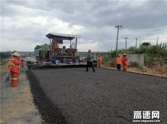 浙江衢州沿江美丽公路施工现场速写