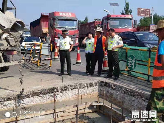 河北石安高速永年收费站多措并举确保ETC车道新增改造工作顺利进行