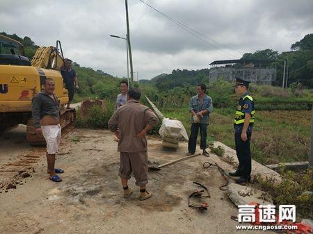 广西玉林高速公路管理处:浦北大队开展法制宣传 普及公路法律法规知识