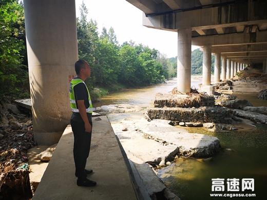 """陕西:高速集团西乡管理所""""四步走""""提升汛期桥梁安全系数"""