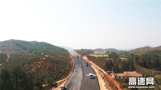 江西安福县旅游快速通道PPP项目全面进入路面施工阶段