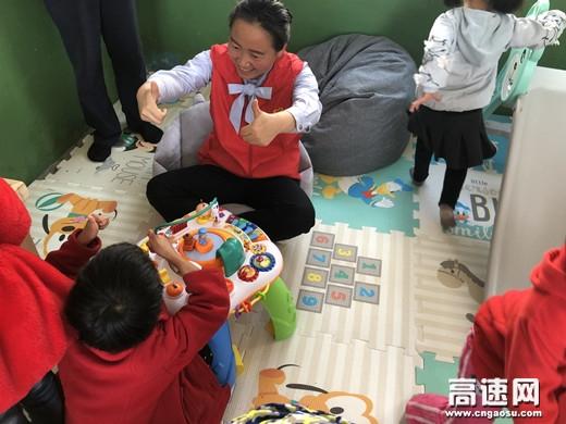 陕西高速集团西乡管理所志愿服务队赴高川镇关爱留守儿童