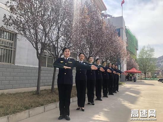 """甘肃:宝天所内训小组""""四有""""再提升文明服务水平"""