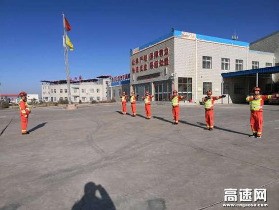 甘肃武威清障救援大队圆满完成冬季业务培训工作