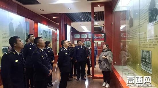 甘肃宝天隧道所、天水救援二大队党支部联合开展主题党日活动