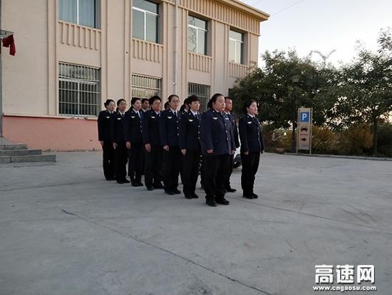 甘肃:装备园收费站2019年冬季封闭式军训拉开序幕