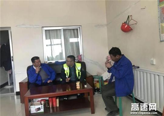 甘肃古浪县交通运输综合行政执法队深入企业走访并签订超限超载责任承诺书