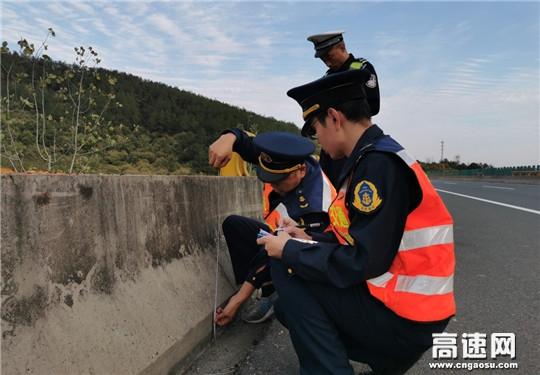 湖北高速路政汉十支队第一大队持续推进桥下空间整治工作