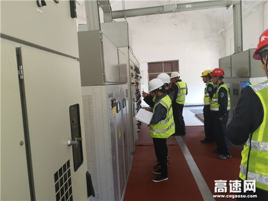 浙江衢黄高速顺利通过省公路与运输管理中心桥隧养护专项抽检巡查
