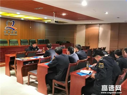 甘肃宝天高速东岔安检大队多举措做好除雪保畅准备工作