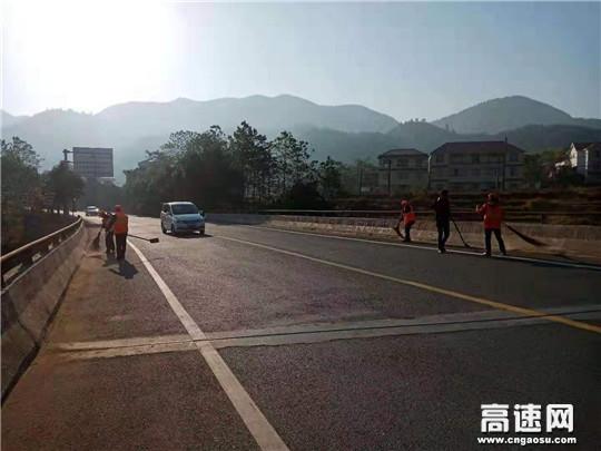 江西:遂川公路分局掀起冬季公路养护热潮