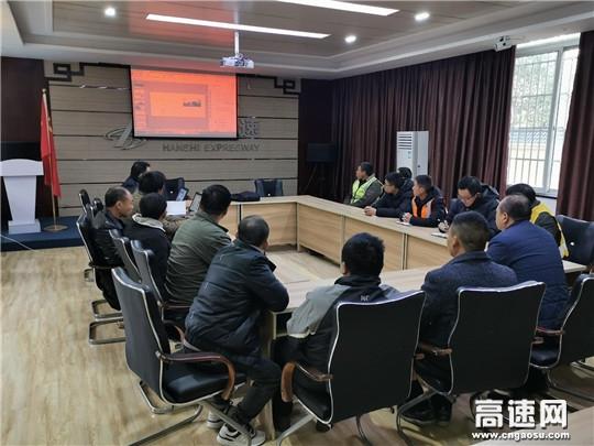 湖北高速汉十路政支队第一大队积极备战冬季防冻防滑保畅工作