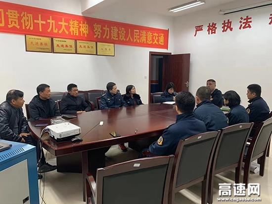 湖南:长沙绕城东路政大队深入开展车辆救援服务自查工作