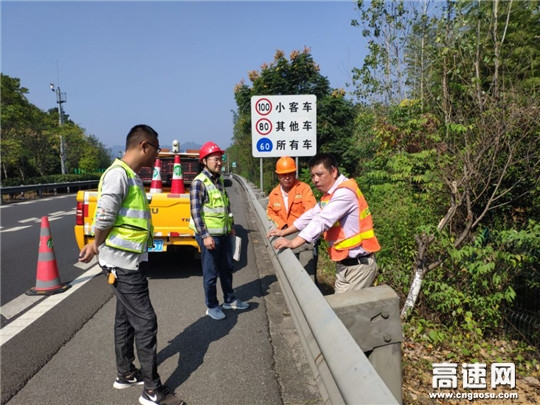 """浙江顺畅养护公司""""四化""""引领交安设施改造再提升 衢黄高速有了""""安全基因"""""""