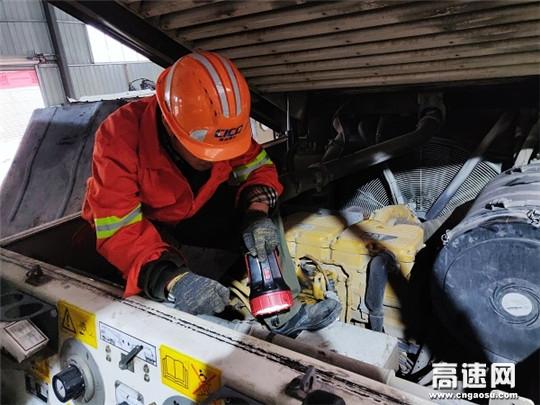 浙江交工养护设备管理站掀起冬季设备维修保养热潮