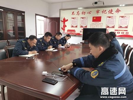 广西高速路政平南大队严明春节纪律确保2020年春节风清气正