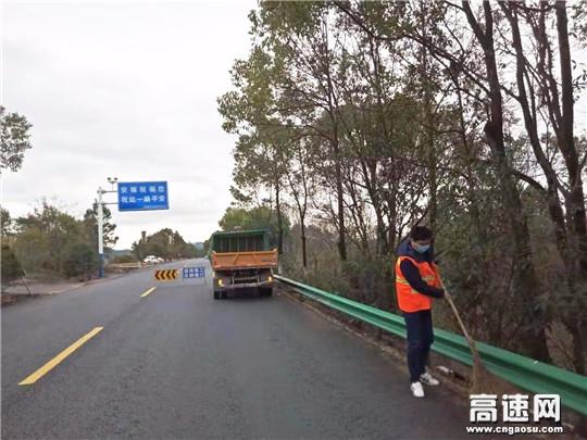 江西安福公路分局确保大动脉安全畅通