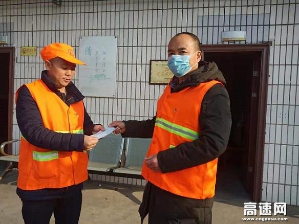 江西安福公路分局党员捐口罩显初心