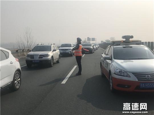 多方联动,紧急救援自燃车辆