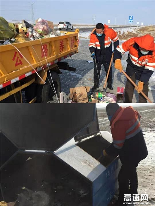 内蒙古公路交通投资发展有限公司呼伦贝尔分公司各公路养护管理所防疫与日常工作两不误