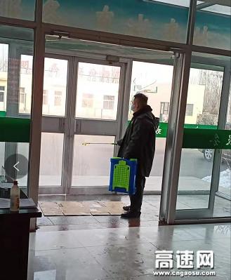河北沧廊(京沪)高速姚官屯收费站打响冠状病毒防控战役